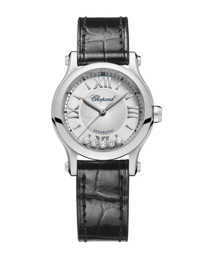 Son Ye-jin wore this Chopard watch on the set.